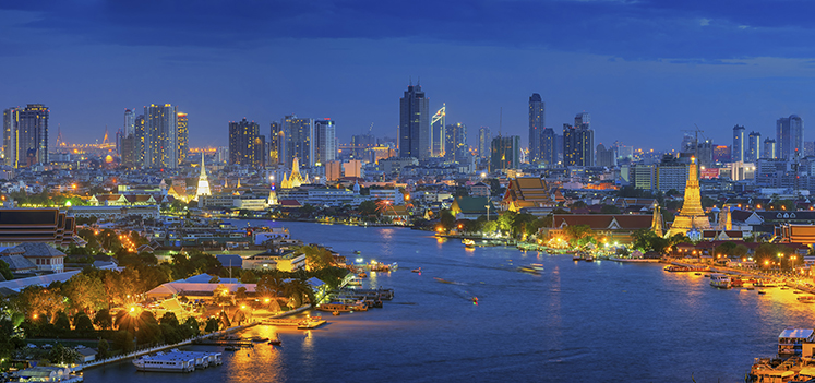 Bangkok cityscape. Photo: Getty Images/iStockphoto