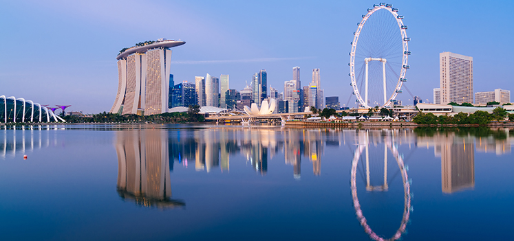 Singapore skyline at dawn. Photo: iStockphoto/Getty Images